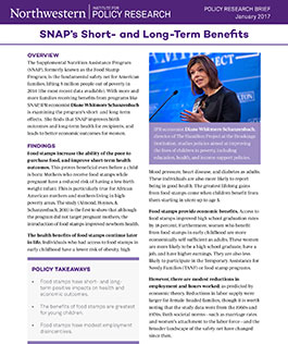 SNAP's Short- and Long-Term Benefits